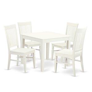 Lennox 5 Piece Dining Set by Alcott Hill