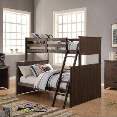 Needham Wooden Twin over Full Bunk Bed Harriet Bee