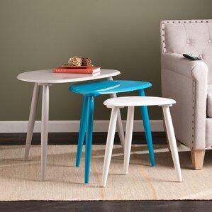 Beautiful Ayres 3 Piece Nesting Table Set