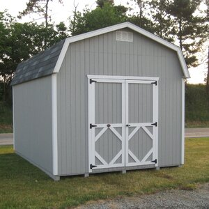 Classic 10 ft. W x 10 ft. D Wooden Storage Shed