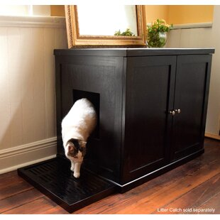 Tall Wood Cabinet With Doors | Wayfair