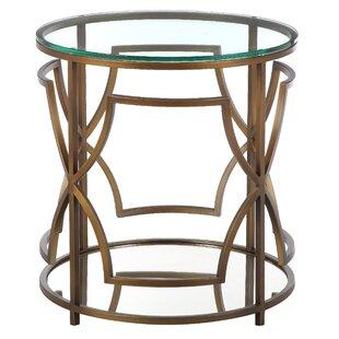 Brass And Glass Side Table Wayfair - Wayfair glass side table
