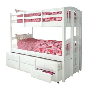 Octavius Twin Bunk Bed With Trundle And 3 Drawer