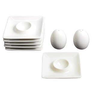 Holds 6 Eggs 7 Different Colours To Choose From Straightforward Porcelain Eggholder