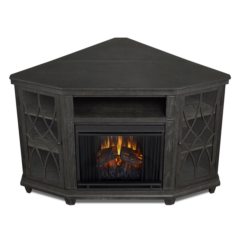 Lynette Corner Electric Fireplace TV Stand