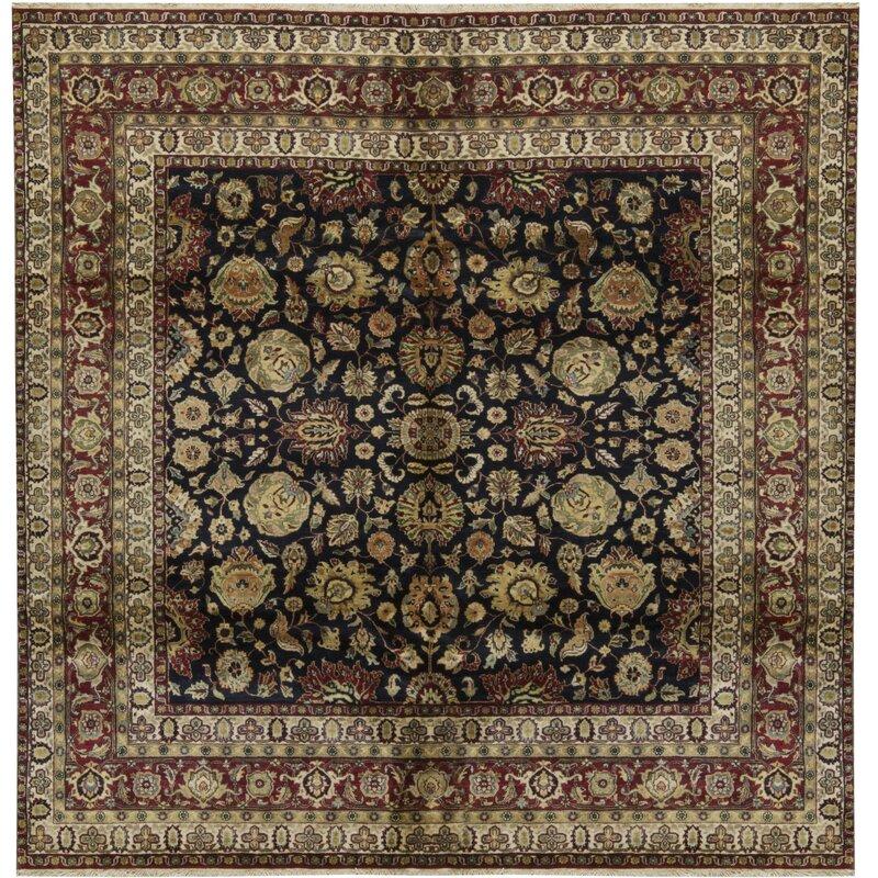 Bokara Rug Co., Inc. One-of-a-Kind 1014 Sona Square 8 Wool Brown/Beige/Black Area Rug