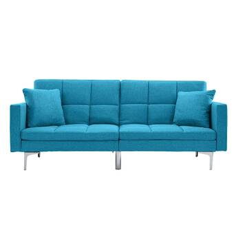 Lucid Convertible Convertible Sofa & Reviews   Wayfair