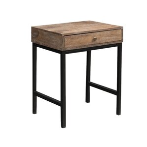 Lore Side Table by 17 Stories