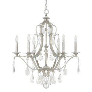 Destrey 6-Light Candle-Style Chandelier