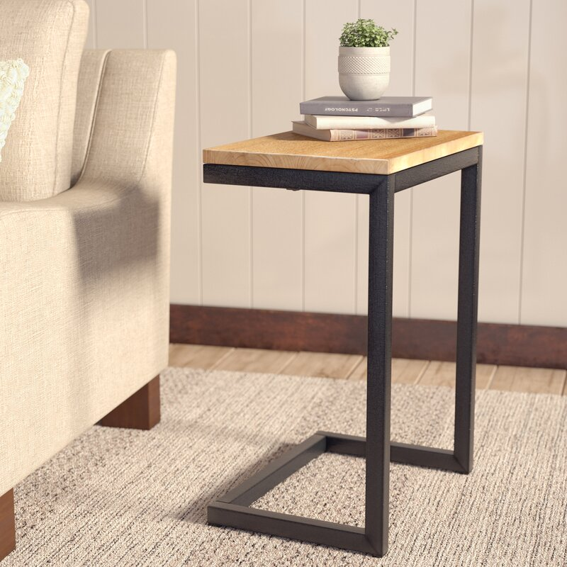 Nayara Antique End Table Reviews Allmodern