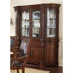 Mccombs Lighted China Cabinet by Astoria ..