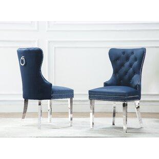 Zephyrine Upholstered Dining Chair (Set of 2)