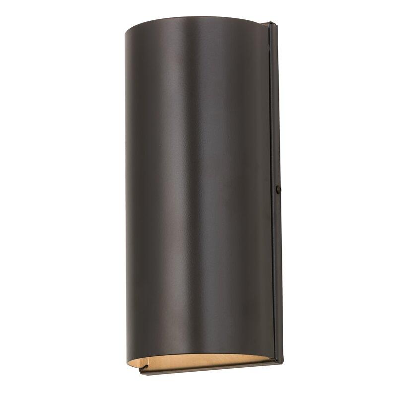 Meyda Tiffany 2-Light Cilindro Cosmo Wall Sconce | Wayfair