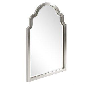 Clariandra Silver Arched Wall Mirror