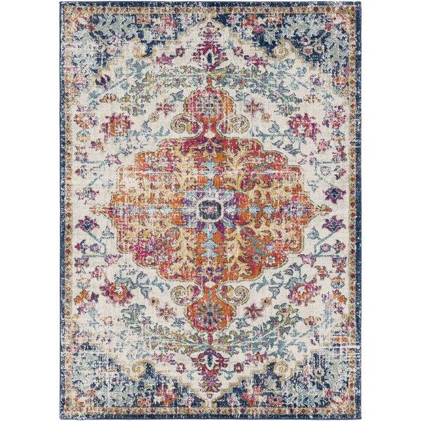 mistana hillsby blue orange area rug reviews wayfair