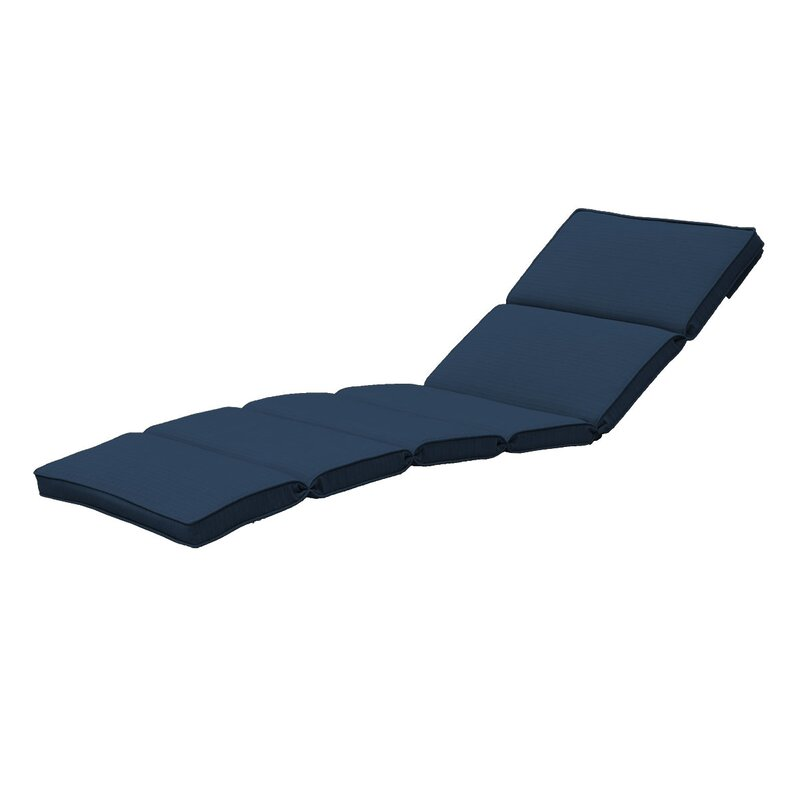 Fortenberry Indoor Outdoor Chaise Lounge Cushion