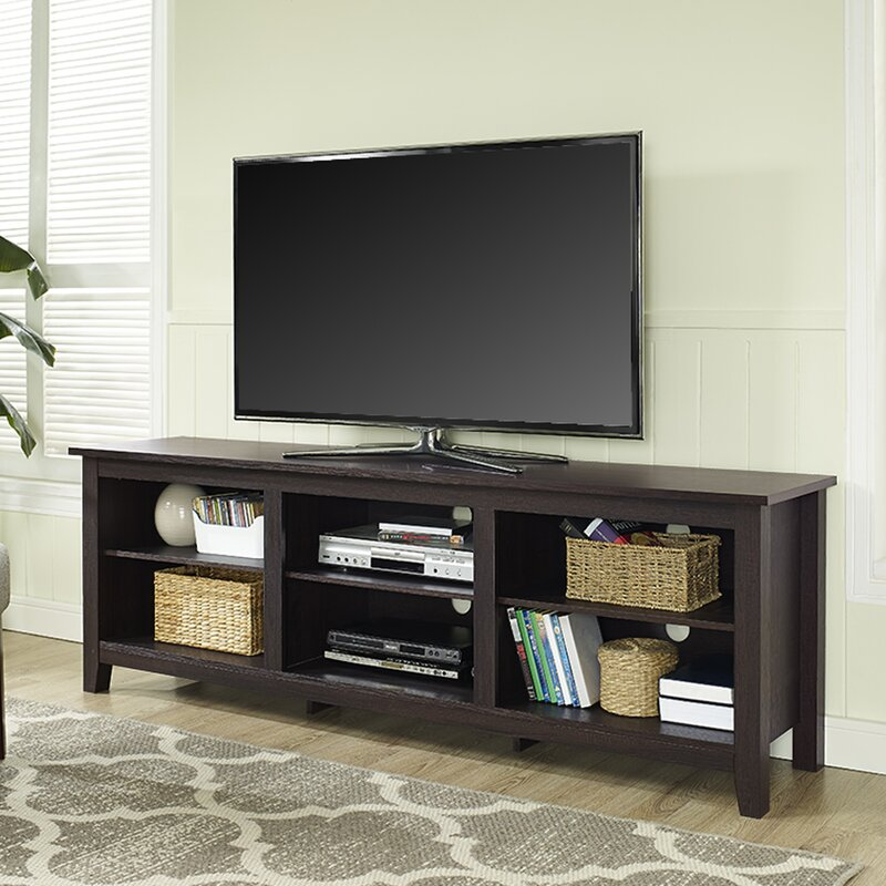 Beachcrest Home Sunbury Tv Stand For Tvs Up To 70 With Optional