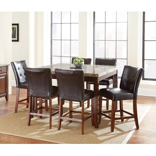Lawhon 7 Piece Pub Table Set
