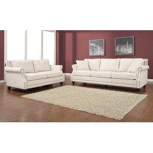 Camden 2 Piece Living Room Set by TOV Furniture