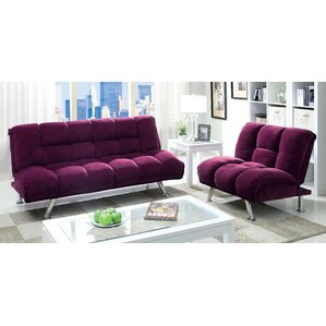 Purple Living Room Sets You\'ll Love | Wayfair