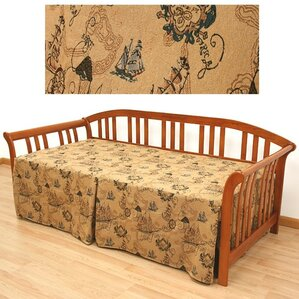 New World Box Cushion Daybed Slipcover by Easy Fit