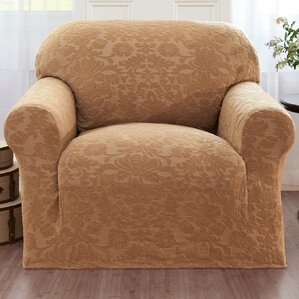 Chair Slipcovers With Arms chair slipcovers you'll love | wayfair