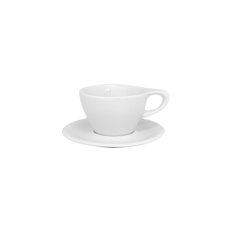 notNeutral LINO 8 oz. Latte Cup & Saucer & Reviews | Wayfair