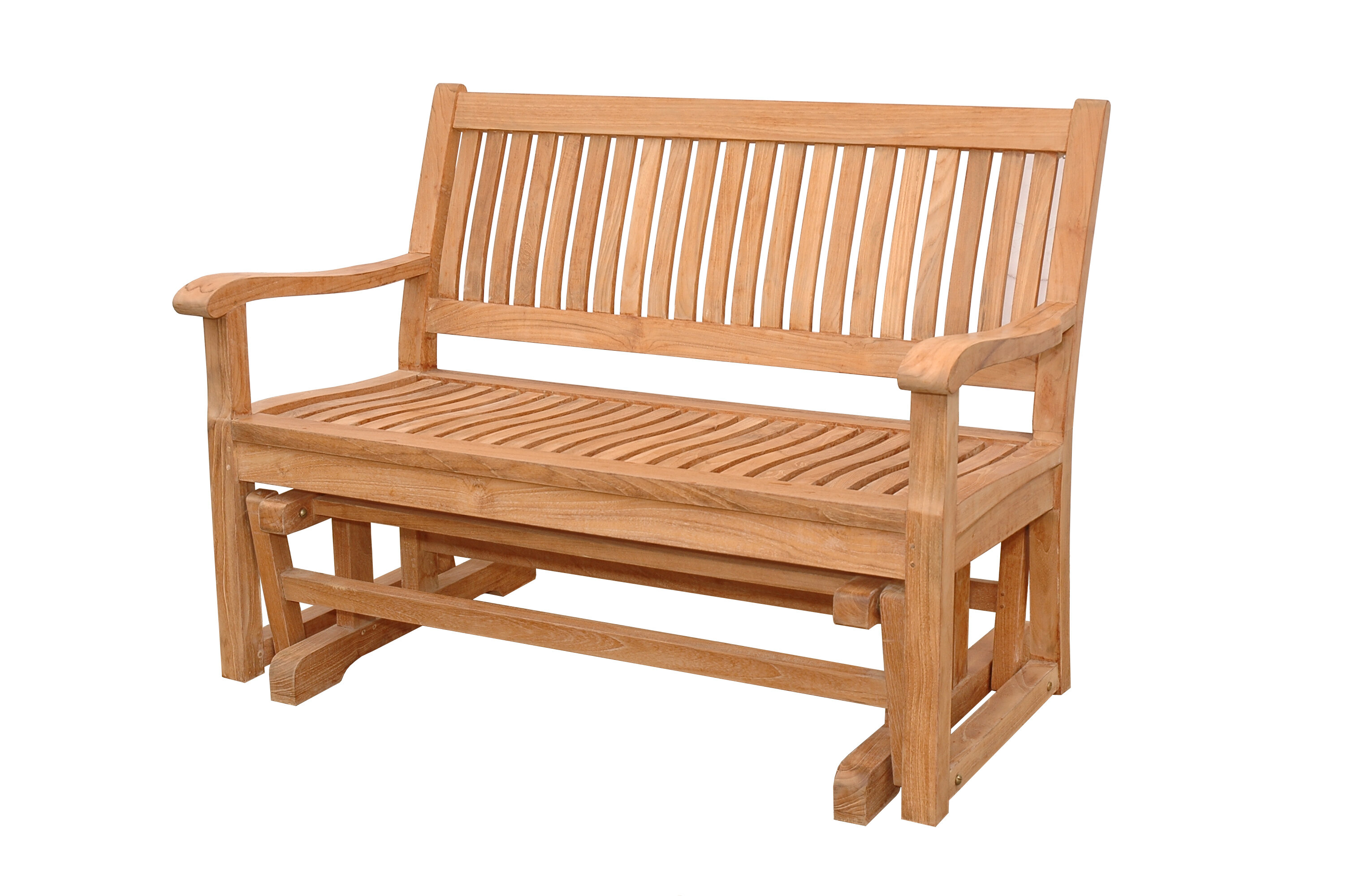 welcome goods bench new shipping porch free glider all com kotulas brown deals rustic