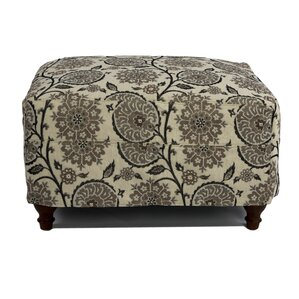 Seacoast Slipcovered Ottoman by Sunset Trading