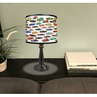 Disney cars lamp wayfair screven car collage 185 table lamp mozeypictures Image collections