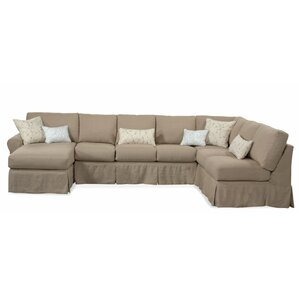 Manhattan Sectional  sc 1 st  Wayfair.com : slipcover sofa with chaise - Sectionals, Sofas & Couches