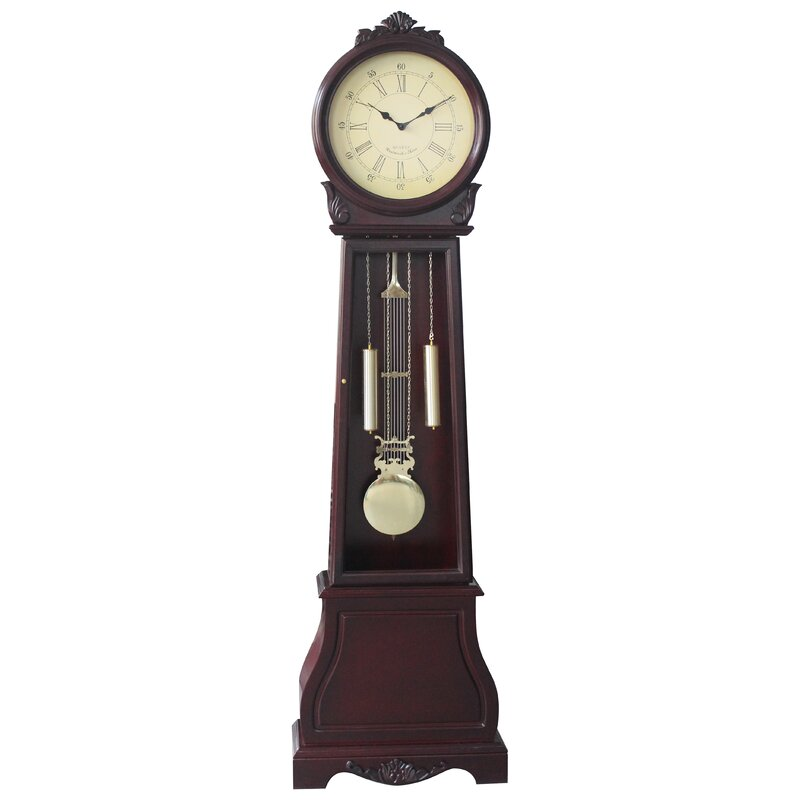 Jenlea 72 Floor Standing Grandfather Clock Reviews Wayfair