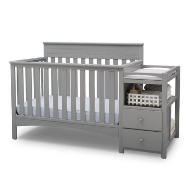 delta children abby 4 in 1 convertible crib and changer by delta rh wayfair com sarah classic crib assembly Unique Baby Cribs and Furniture