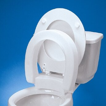 Maddak Elongated Hinged Raised Toilet Seat Amp Reviews Wayfair