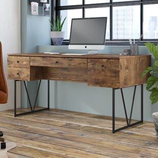 Granite 4 Drawers Writing Desk