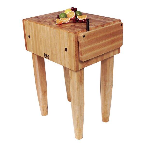 john boos pro chef butcher block prep table reviews wayfair