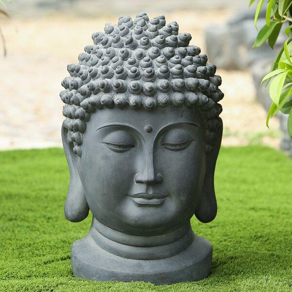 Bloomsbury Market Nickelson Buddha Head Statue Amp Reviews