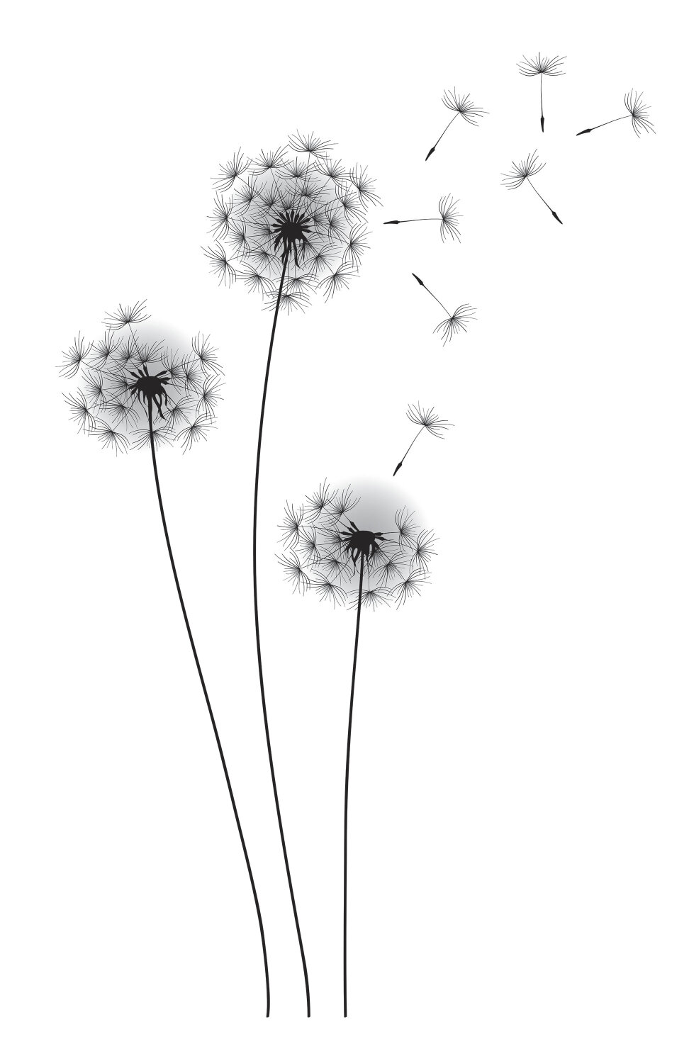 Room mates deco whimsical dandelion wall decal reviews wayfair