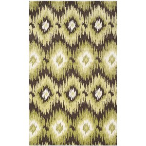 Greenhill Dark Brown/Green Rug