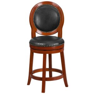 Adonia 26'' Swivel Barstool by Darby Home Co