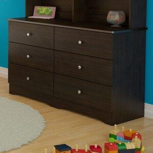 Baillie 6 Drawer Double Dresser by Harriet Bee
