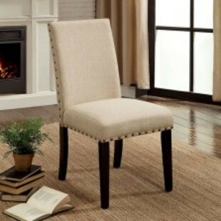 Duguay Transitional Upholstered Dining Chair (Set Of 2) Looking for