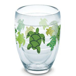 Sun and Surf Turtle 9 oz. Stemless Wine Glass