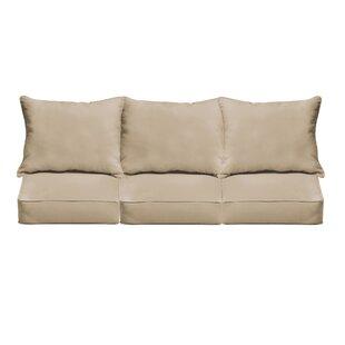 loveseat sofa patio furniture cushions you 39 ll love wayfair. Black Bedroom Furniture Sets. Home Design Ideas