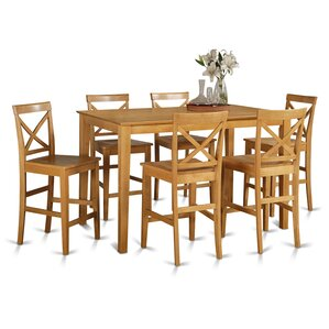 Smyrna 7 Piece Counter Height Pub Table S..