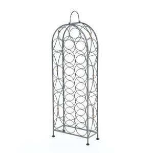 Bauerle 23 Bottle Floor Wine Rack by One Allium Way