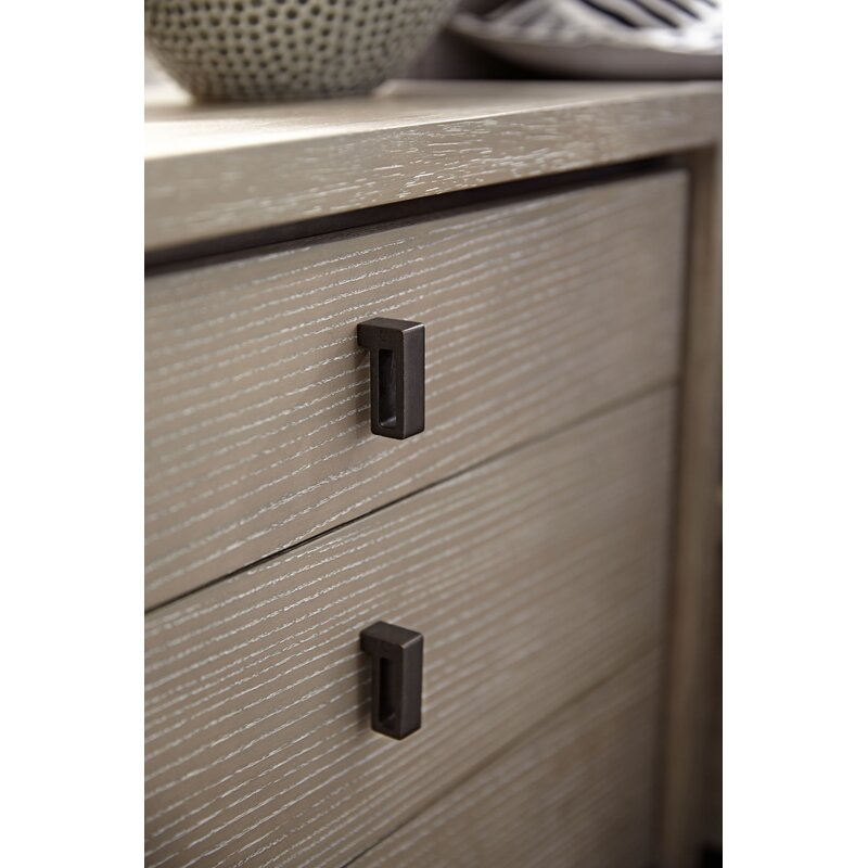 Keiper 3 Drawer Nightstand with USB Port