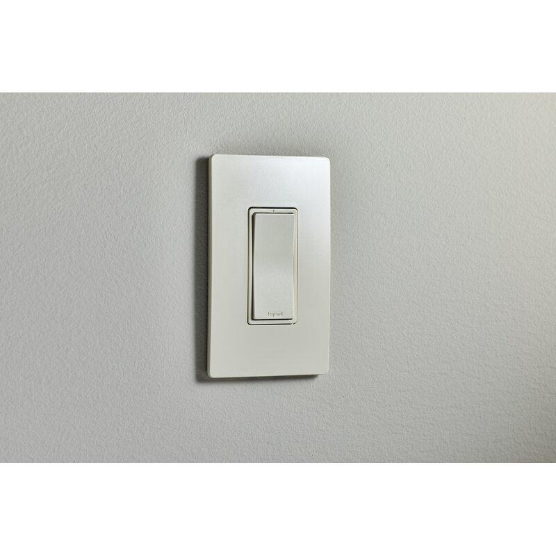 Radiant 15-Amp 3-Way Rocker Light Switch
