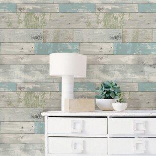 Beachwood L And Stick Wallpaper Roll