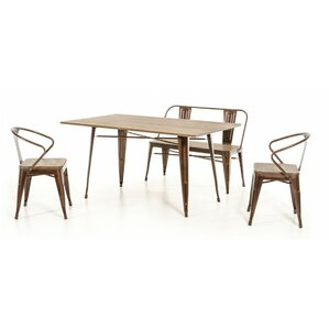 Daniella 4 Piece Dining Set by 17 Stories